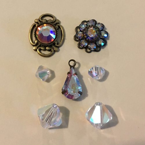 Aurora Borealis Swarovski Austrian Crystals